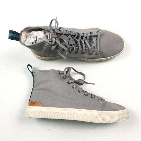 f53768d726a TOMS Men Travel Lite Hi-Top Sneakers 9 B75. M 5ac7f1a28df4701cd44316af